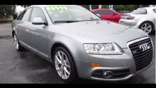 2011 Audi A6 3.0T Quattro S-Line Walkaround, Start up, Tour and Overview