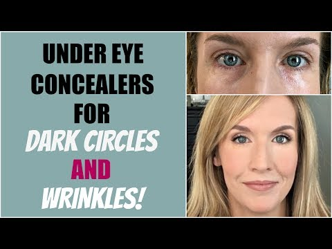 Under Eye Concealers for Mature Skin AND Dark Circles   14 Concealer Reviews!