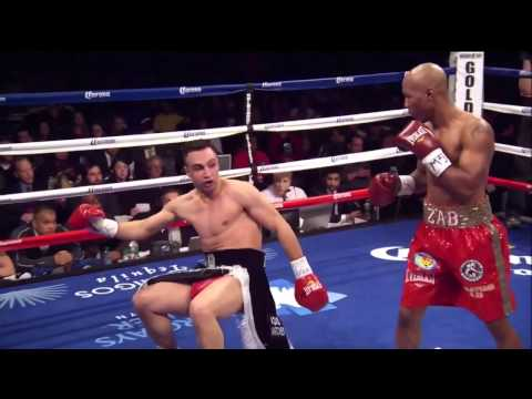 Paulie Malignaggi 2nd Roud Knockdown Against Zab Judah