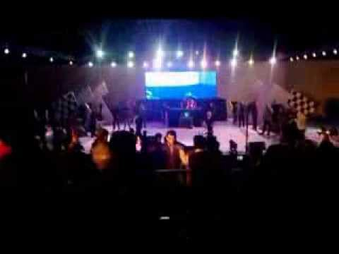 Bohemia live at Thapar uni. challenging honey Singh. bohemia...