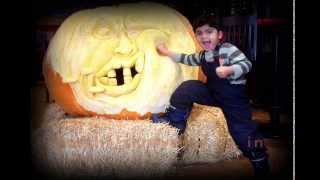 Monster pumpkin carving (700 pounds)- KARTIST