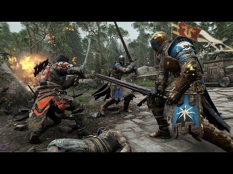 For Honor — Моя игра в матче с режимом Dominion | Gamescom 2015