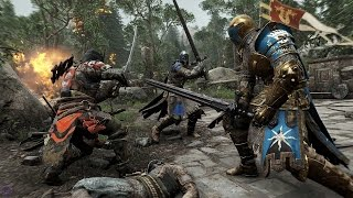 For Honor — Моя игра в матче с режимом Dominion | Gamescom 2015