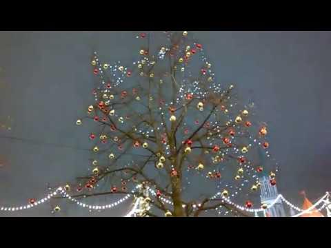 Предпраздничное настроение  - 2018 Красная площадь Москва 28.12.2017 20:05
