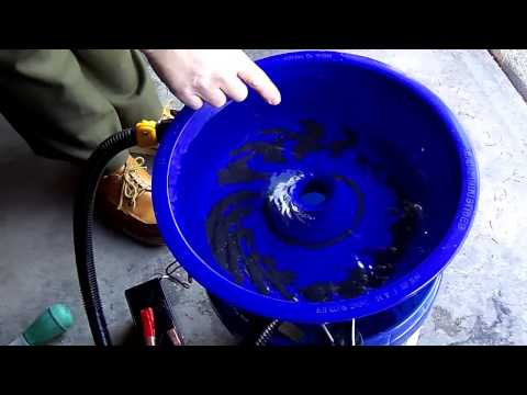 Blue Bowl Tutoral for processing of GOLD concentrates