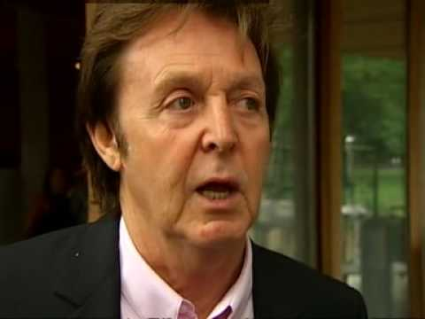 Paul McCartney launches the