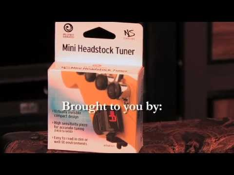 Tim Pierce Guitar Lessons - Planet Waves NS Mini Headstock Tuner Review