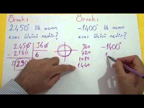 TRİGONOMETRİ 1 - Şenol Hoca