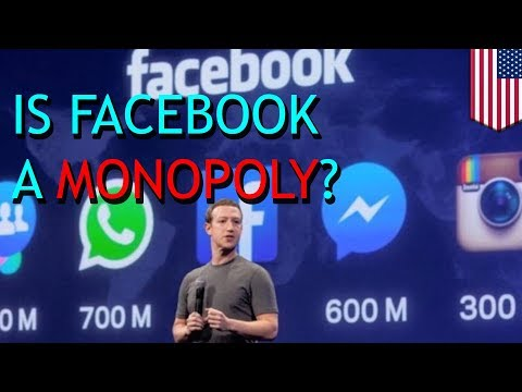 Zuckerberg owns or clones most apps he cites as competition: Facebook monopoly - TomoNews