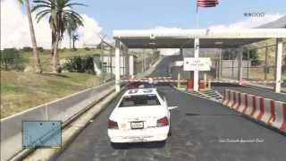 GTA 5 Military Base F16