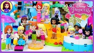 Disney Princess Lego Pool Party Dress Up Swimwear Silly Play Kids Toys