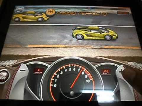 Drag Racing ipad lamborghini gallardo level 6 1/4