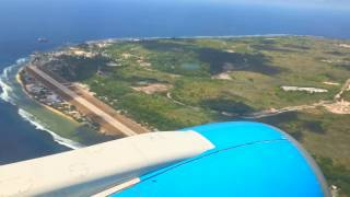 Landing in Nauru