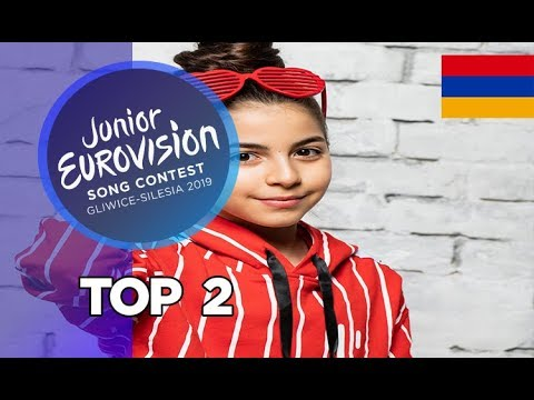 Junior Eurovision 2019 - My Top 2 (So Far) +