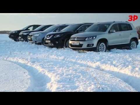 Nissan X-Trail 2014 против одноклассников: большой тест
