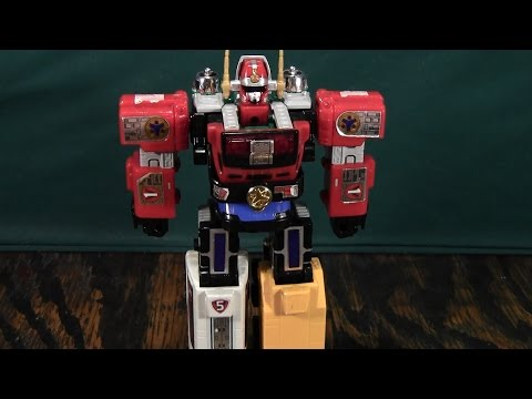 Power Rangers Light Speed Rescue Megazord Re-review