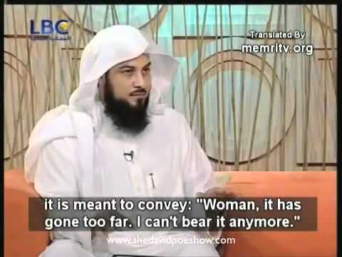 Muslim preist on How to beat your wife