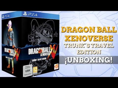 Dragon Ball Xenoverse Trunk's Travel Edition: Unboxing y concurso