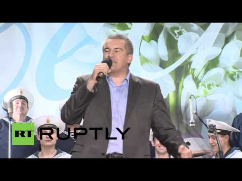 "Ukraine: ""We are going home, Crimea is in Russia!"" - PM Aksyonov"