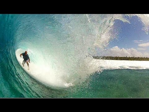 Kelly Slater goes GoPro