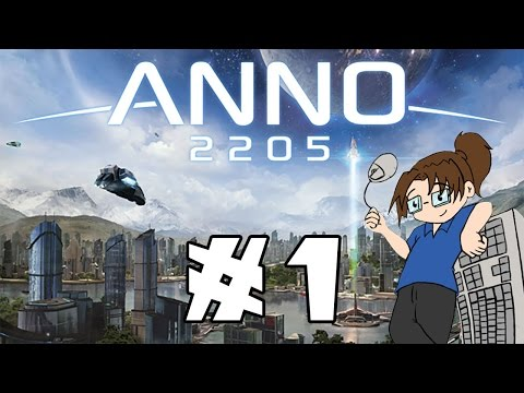 Let's Try: Anno 2205! | Ep. 1 | City-Builder / Economy Sim