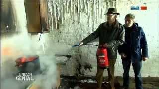 Wassernebel-Feuerlöscher - MDR Einfach genial