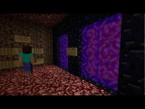 Minecraft: Przeciętny dzień z życia Herobrinea