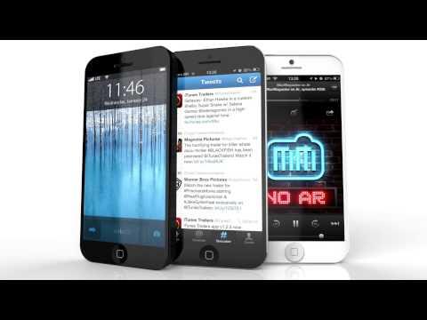 iPhone 5S con iOS 7