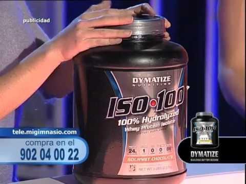 Aislado de proteína ISO 100 de Dymatize