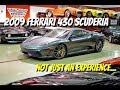 2009 Ferrari 430 Scuderia--Video Test Drive with Chris Moran
