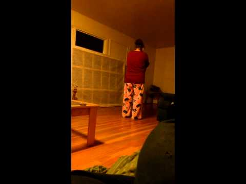 Crazy Person Pissing Her Pants Sneezing! video