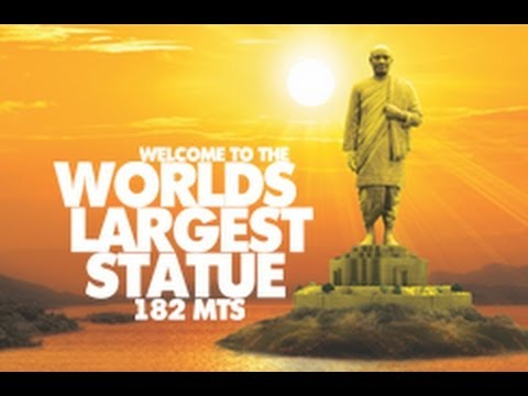 Statue of Unity - English