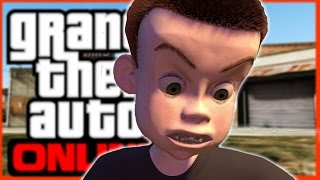 EVIL ANGRY KID IN GTA 5! (GTA V ONLINE TROLLING)