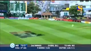 Virat Kohli 6th Test Hundred Against New Zealand 2014