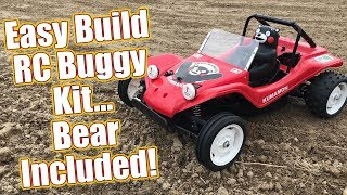 Fun & Easy To Build RC Dune Buggy Kit! - Tamiya Kumamon Version DT-02 Review | RC Driver