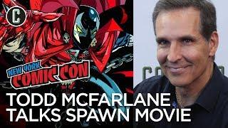 Todd McFarlane Talks Spawn Movie - NYCC 2017