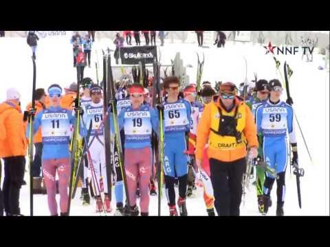 Чемпионат мира среди юниоров по лыжным гонкам 04.02.17 в г.Парк Сити (Америка)