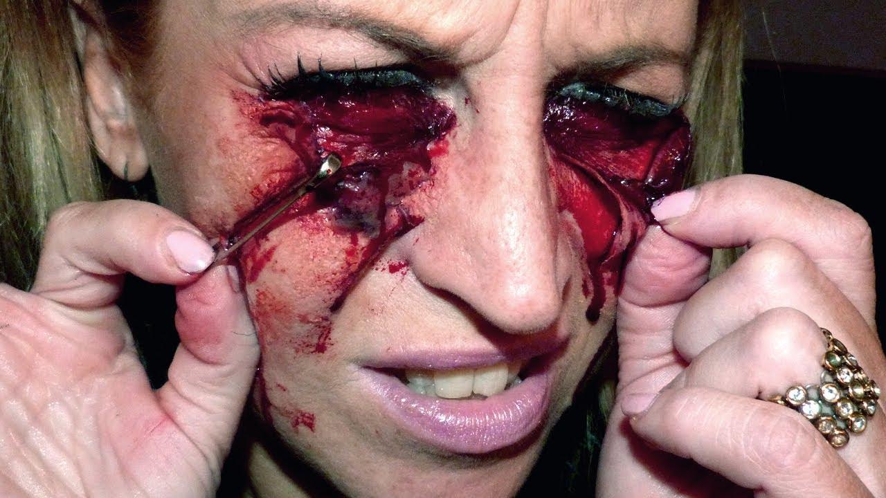 Maquillage effets sp ciaux oeil joue epingl sur sabrina perquis youtube - Maquillage de sorciere facile a faire ...