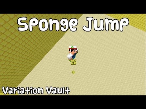 Minecraft Bukkit Plugin - Jump Sponge - Create jump pads with sponge + wool