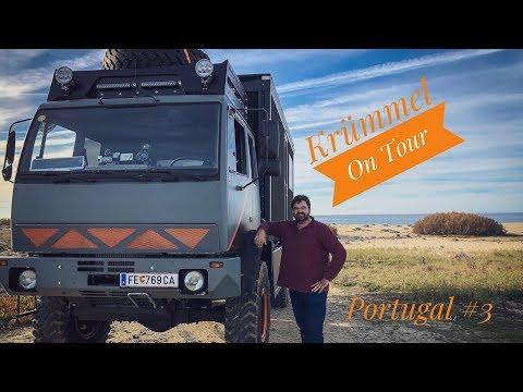 Krümmel on Tour /Portugal#3/12m18/Steyr/Expediton/Womo/