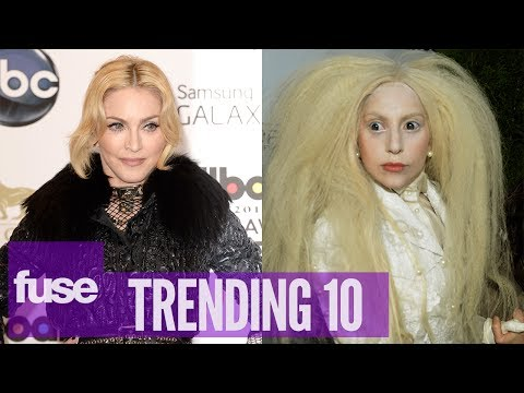 Lady Gaga Throws Shade at Madonna on Howard Stern - Trending 10 (11/12/13)