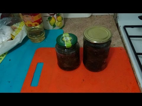 Баклажаны  жаренные с зеленью и чесноком на зиму без уксуса