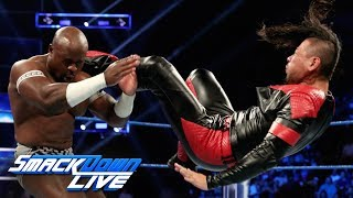 Apollo Crews vs. Shinsuke Nakamura: SmackDown LIVE, July 23, 2019