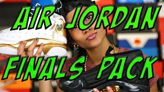 "BABY KAELY ""AIR JORDAN DMP PACK SNEAKER REVIEW"" 12yr old kid rapper"