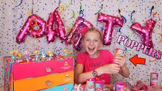 Party Poppers Surprise with Party Pop Teenies!!