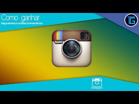 Como ganhar seguidores. curtidas e comentarios no instagram