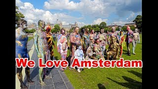 Body Art Connectiom ..Amsterdam Bodypainting 2016