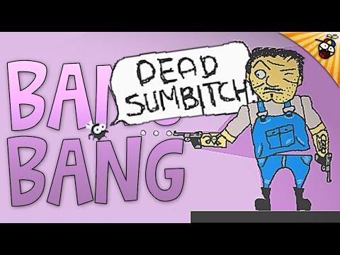 Bang Bang - FRUSTRATING DRUNK 2D SHOOTER - Bang Bang Gameplay (Free Download)