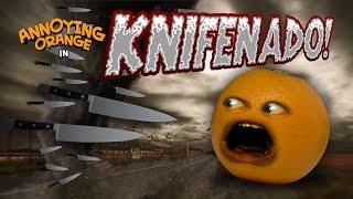 Annoying Orange - Knifenado! (Sharknado Parody)