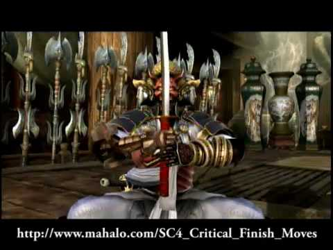Soul Calibur 4 - All Character Critical Finishes
